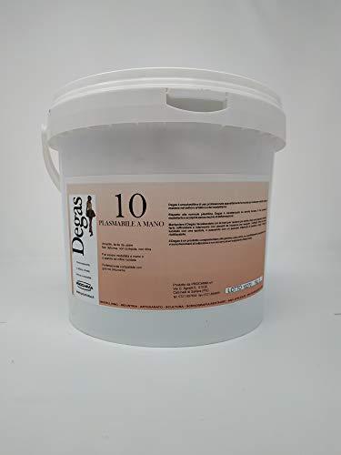 prochima pl010K5Degas 10RAL Suave 7035, plastilina de uso Profesional, 5kg