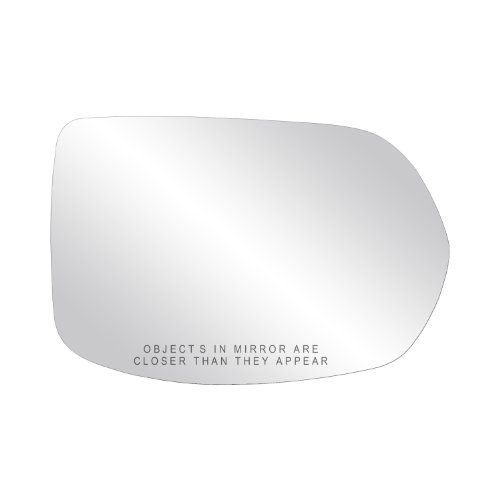"""Fit System Passenger Side Heated Mirror Glass w/Backing Plate, Honda CR-V, 4 15/16"""" x 7 7/16"""" x 7 11/16"""""""