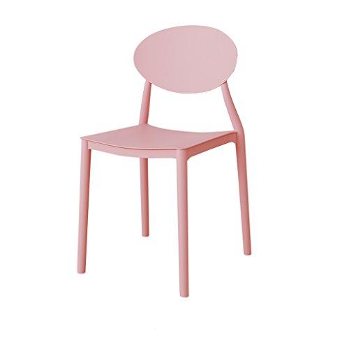 Pride S eethuis modern minimalistisch kunststof rugleuning stoel lounge stoel Een