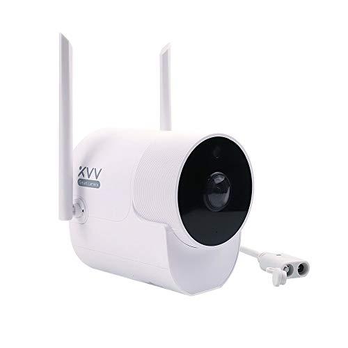 Cámara Inteligente XiaoVV al Aire Libre IP65 Impermeable a Prueba de Polvo 180 ° detección de Movimiento por visión Nocturna por Infrarrojos