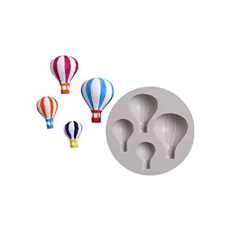 S.Han Silicone Parachute Mould Fondant Mold Cake Decorating Tool Resin Baking