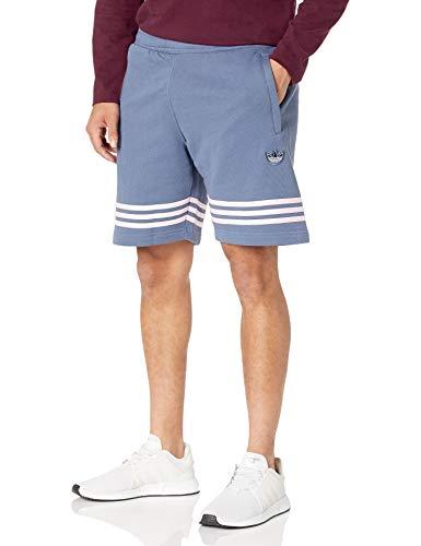 adidas Originals Pantalón corto para hombre - azul - Small