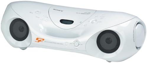 Sony ZS-XN30 Multi-Codec S2 Sports CD/Tuner Boombox (White)