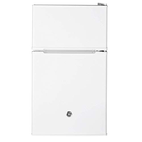 GE Appliances 3.1 Cubic Foot Freestanding Double Door ...