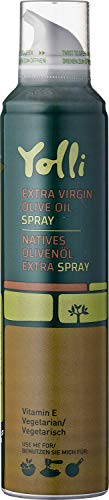 Yolli Olivenöl Spray Sprühflasche Kochspray (Olivenöl Neutral, 200 ML)