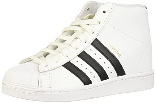 adidas Superstar UP W, Scarpe da Ginnastica Donna, Ftwr White/Core Black/Gold Met, 41 1/3 EU