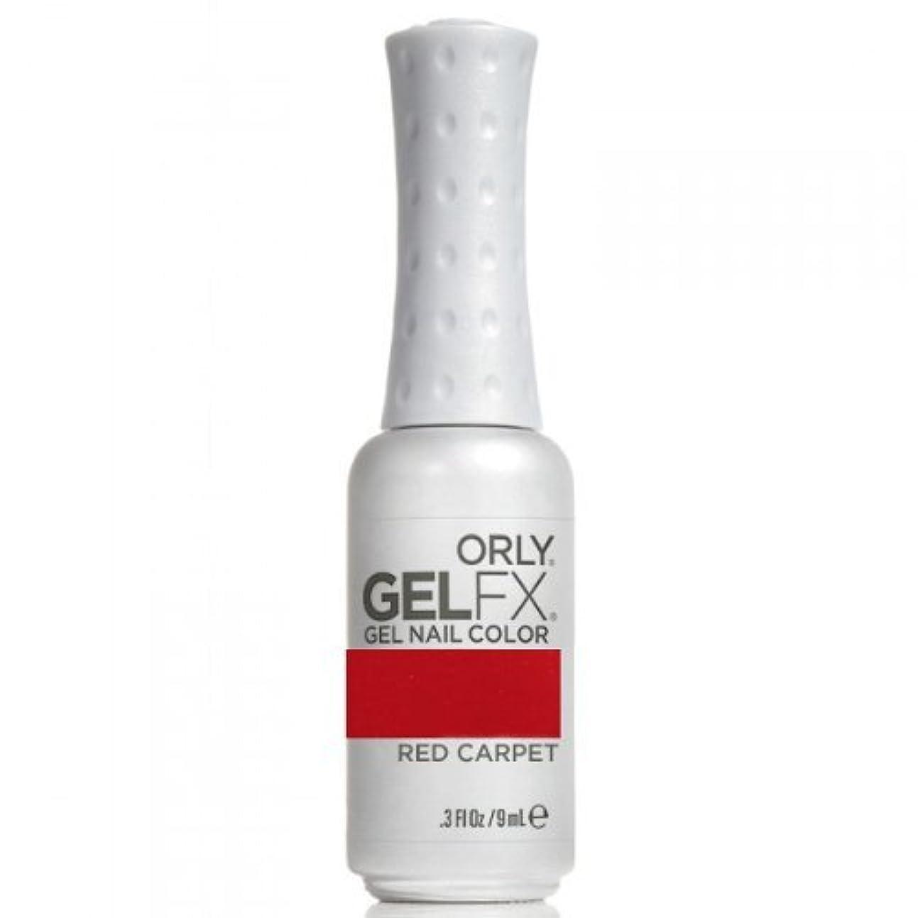 親ターゲット有罪ORLY(オーリー) ジェル FX ネイルラッカー 9ml Red Carpet
