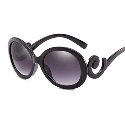 Occhiali da Sole in plastica Piccoli Occhiali da Sole da Donna di Marca Sexy in Cristallo Vintage Piccoli per Le Donne Oculos De sol Feminino Brightblack