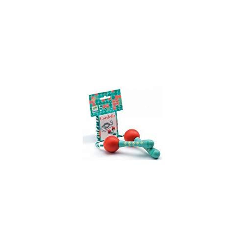 DJECO - Giochi di azione e riflessi Giochi di abilità Cordelia Corda per saltare, Multicolore (15)