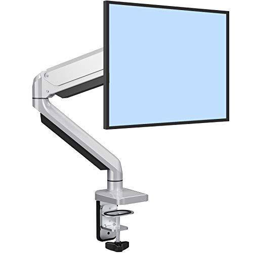 ErGear Soporte para Monitor LCD/LED 13 '-32' Pulgadas Resorte de Gas Ajustable Tecnología Diseño Ergonómico Soporte Monitor Elevador Altura Ajustable Giro de 360° Rotación de 180° VESA 75x75/100x100mm