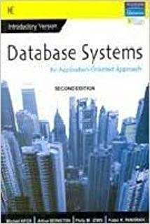 New-Database Systems: An Application - Oriented Approach, Introductory Version - INTERNATIONAL EDITION