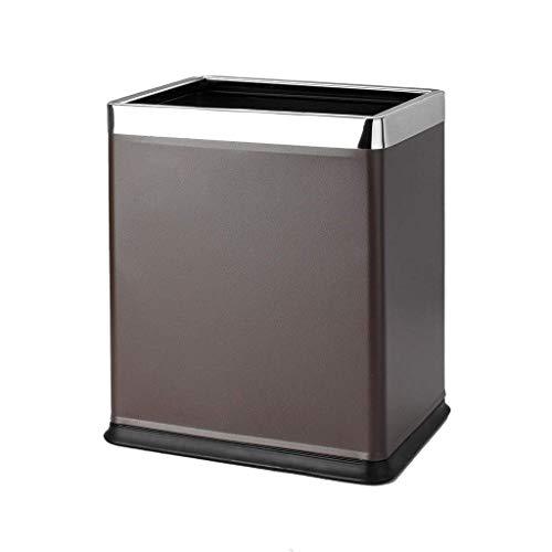 Papelera de reciclaje y papelera de reciclaje Espacio no descubierto Sala de estar creativa Bote de basura Sala de oficina Sala de limpieza de hotel Papelera de basura comercial Conveniente (Color: