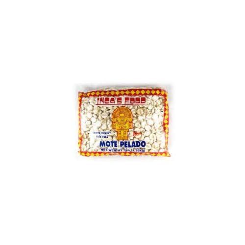 Inca's Food Mote Pelado - White Hominy 15oz (3-pack)