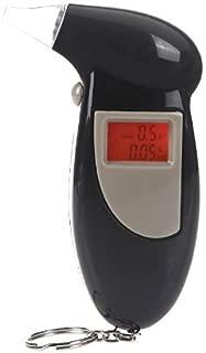 Basic Digital Breath Alcohol Tester with LED Back Lit (Multicolour)