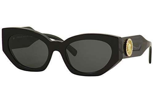 Versace 0VE4376B Occhiali, (BLACK/GREY), 54/19/140