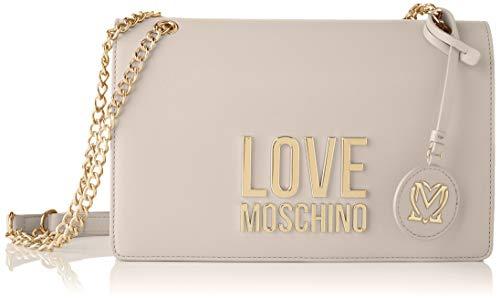 Love Moschino Precollezione SS21 | Borsa a Spalla da Donna, Sac l'paule Femme, Ivoire (ral 1013), Normal