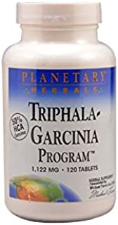 Planetary Herbals Triphala-Garcinia Program, Cleaning & Nutritional Support for Those on a Diet