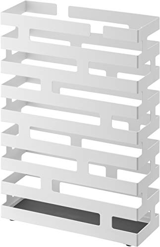 山崎実業 傘立て ブリック ワイド ホワイト 2360