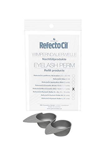 RefectoCil - Perm Refill Mini Schalenset 1+1 Färbeschalen zum Anrühren der Farbpaste - 2 Stück