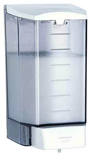 HEXOTOL SN520-Dispenser di Sapone, in plastica, Plastica, Trasparente, 10.8x10.7x20.39 cm