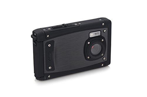 "Coleman C40WP-BK Venture HD 20 Mega Pixels Waterproof Underwater Digital Camera with Full 1080p HD Video, 2.5"" LCD & 8X Digital Zoom, Black"