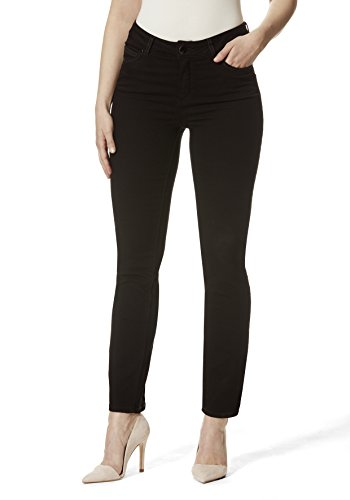 Stooker Milano Damen Stretch Jeans Hose Magic Shape Effekt - Black (34/32)