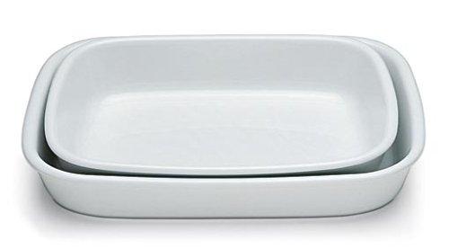 Tognana 37 x 25 x 7 cm, Pl-Cook Plat à Four Blanc