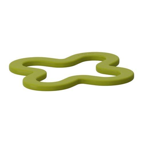 IKEA LAGG Topfuntersetzer in grün; Silikonkautschuk