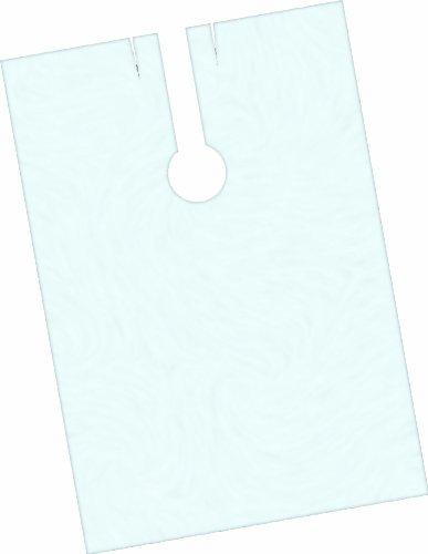 Fripac-Medis - Capas de peluquería desechables (150 x 100 cm, lisas, 100 unidades), transparente