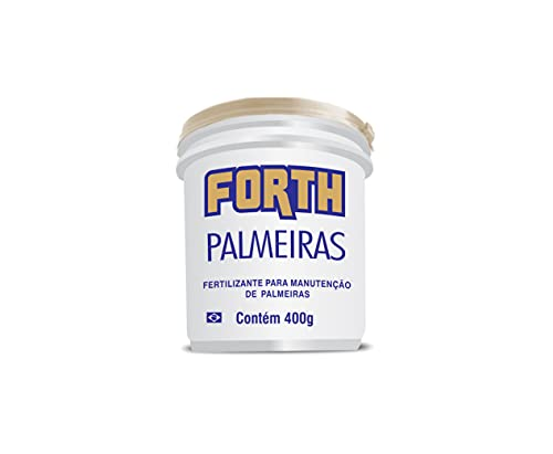 Fertilizante Adubo Forth Palmeiras 400 Gramas - Balde