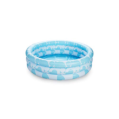 FUNBOY Inflatable Rainbow Cloud Floating Bar Pool Float