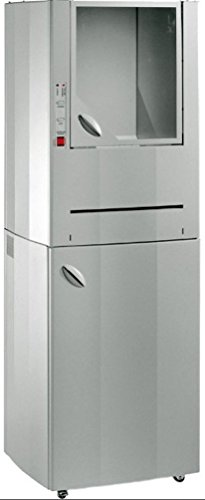 Buy Kobra 400 WB Centralized Cross Cut Industrial Heavy Duty Shredder, 53 Gallon Steel Cabinet, Heav...