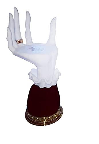 GDYJP Halloween Witch Hands Skeleton Holder, con la Mano de la Mano, el Soporte de la Vela de la Bruja de la Resina, la decoración Creativa del Partido (Color : 2pc, Tamaño : One Size)