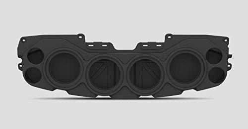 American Soundbar JL/JT Wrangler Gladiator Overhead Sound System (Black) Empty Enclosure