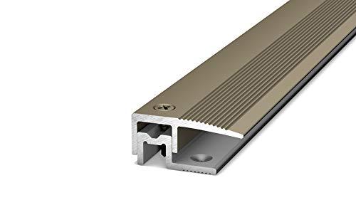 PS 400 Abschlussprofil PEP 90cm havanna/edelstahloptik matt neue Bezeichnung