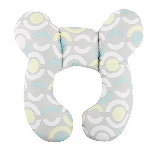 Meijin Almohada de apoyo para el cuello del bebé, almohada de protección de la cabeza en forma de U, almohada de viaje estereotipo anti cabeza almohada cervical bebé (color: 03)