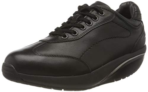 MBT Pata 6s W, Scarpe Stringate Oxford Donna, Nero (Black Nappa 03n), 41 EU