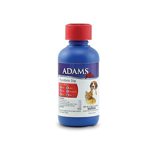 Adams Plus Pyrethrin Dip for Dogs and Cats 4 Ounce