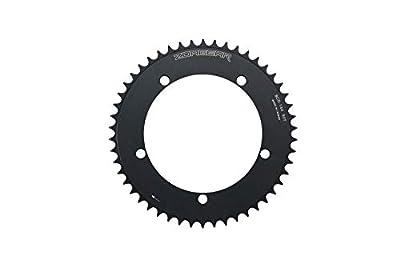 Zoagear Single Speed Chainring 144 BCD 50 Teeth Fixed Gear Bike - Black