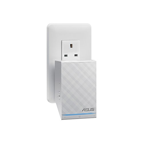ASUS RP-N14 Wireless-N300 Wall-Plug Range Extender/Access...