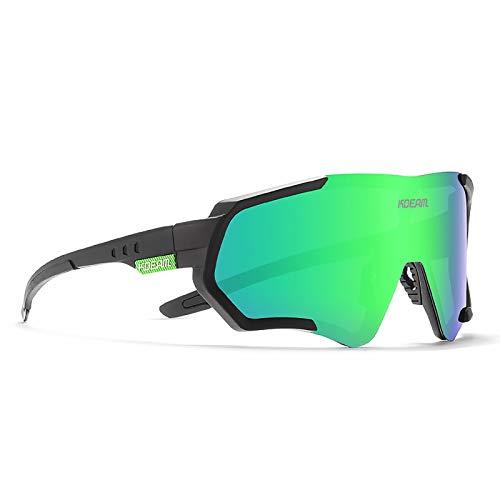 Gafas de Sol para Ciclismo Al Aire Libre, Gafas Deportivas Polarizadas Ultraligeras, Gafas Deportivas a Prueba de Viento para Mujeres y Hombres,03