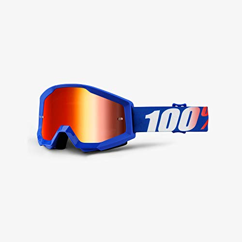 100 Percent STRATA Goggle Nation - Mirror Red Lens
