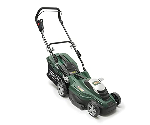 Webb Classic WEER36 Electric Rotary Lawnmower with 5 Cutting Heights,...