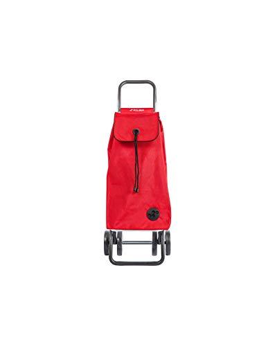 Rolser Carro I-MAX MF 4 Ruedas Plegable (Rojo)