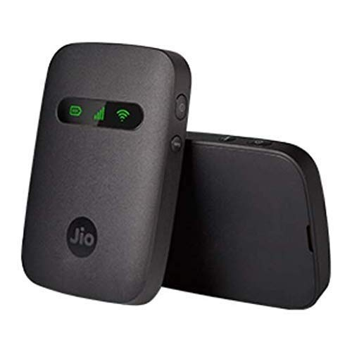 Speedyrep Essentials JioFi 4G Hotspot JMR 541 150 Mbps Portable WiFi Data Device (Black)