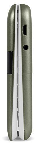 Doro 6050 Smartphone débloqué 2G (Ecran : 2,8 pouces - 32 Mo - Micro SIM - Système d'exploitation propriétaire Doro) Or/Blanc