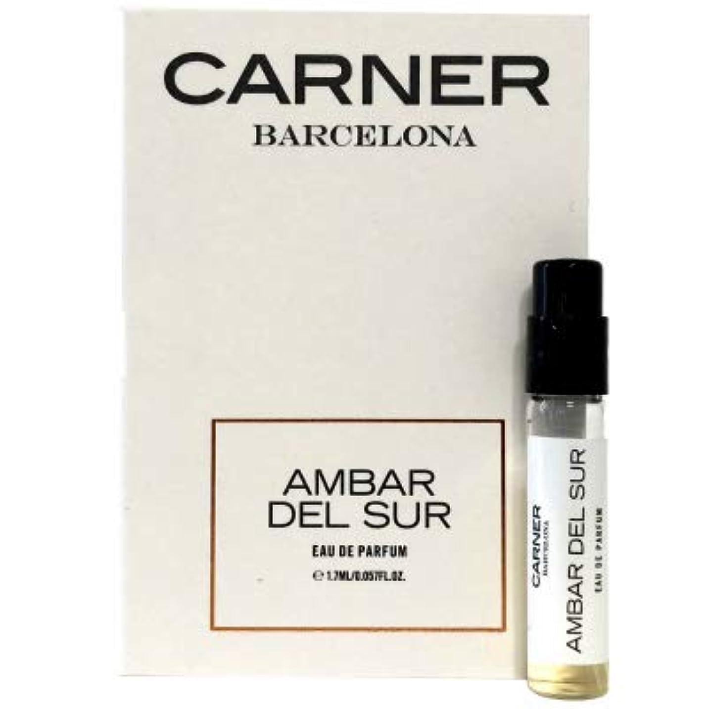 洋服超えるステッチカーナー バルセロナ アンバー デル スール オードパルファン 1.7ml(Carner Barcelona Ambar del sur EDP Vial Sample 1.7ml) [並行輸入品]