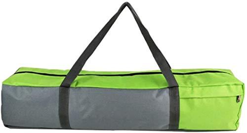 Bolsa de lona extra grande para esterilla de yoga con bolsillo y cremallera, puede contener estera de yoga extra gruesa y accesorios de yoga, regalos de yoga, para amantes del yoga (tamaño mediano)