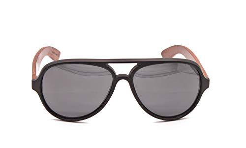 Wood Kiwi: Gafas de sol de madera - Polarizadas - UV400 - Unisex - Falling Falcon