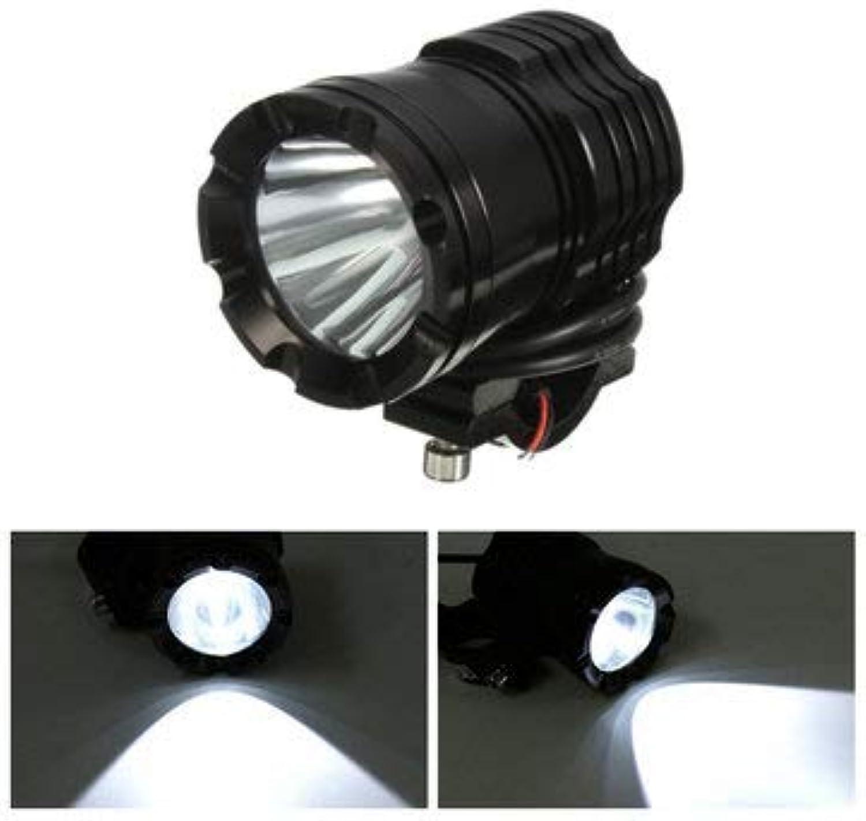 Motorcycle Spot Lights  Motorcycle Led Spot Light  U3 30W 1200LM LED Headlight Spot Lightt Fog for Off Road Car Motorcycle SUV Boat (Spot Light for Motorcycle)